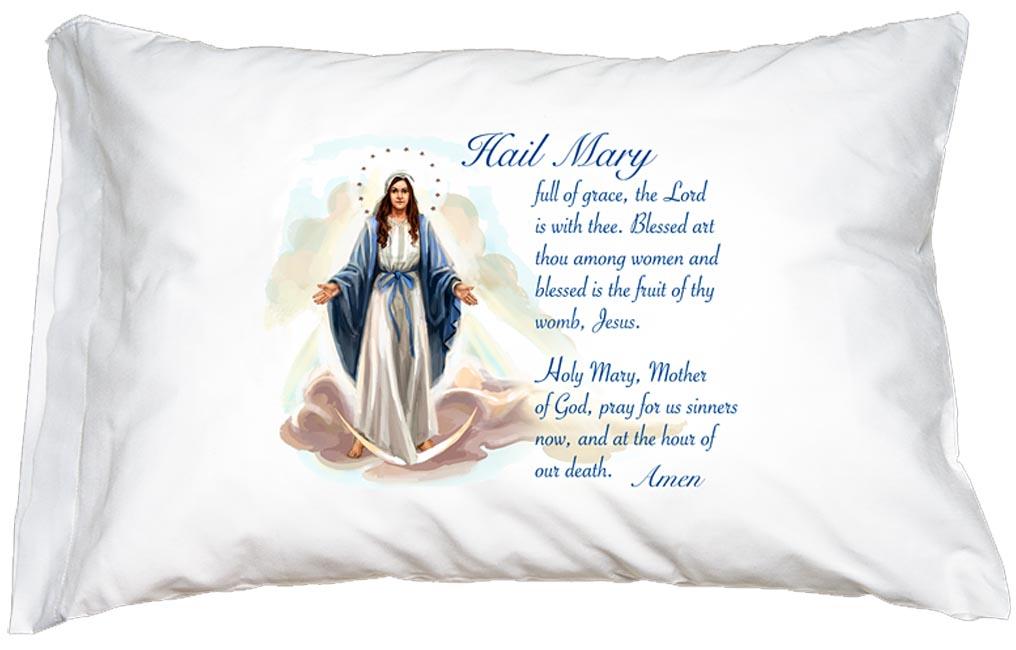 Pillowcase In Spanish Magnificent Hail Mary Pillowcase Seton Educational Media