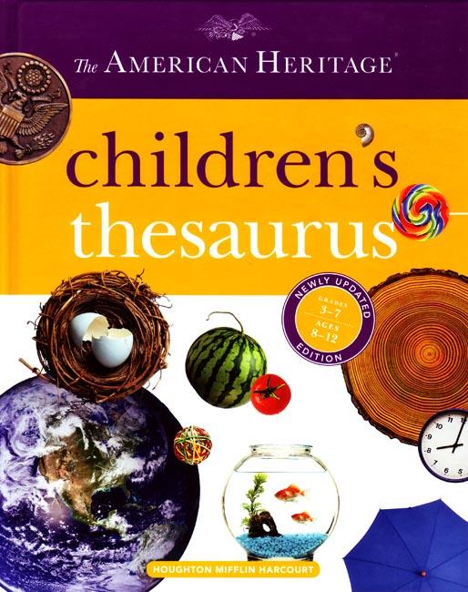 Children S Thesaurus Grades 3 4