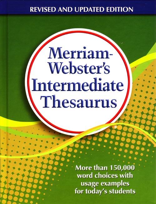 merriam webster s intermediate thesaurus grades 5 6 seton