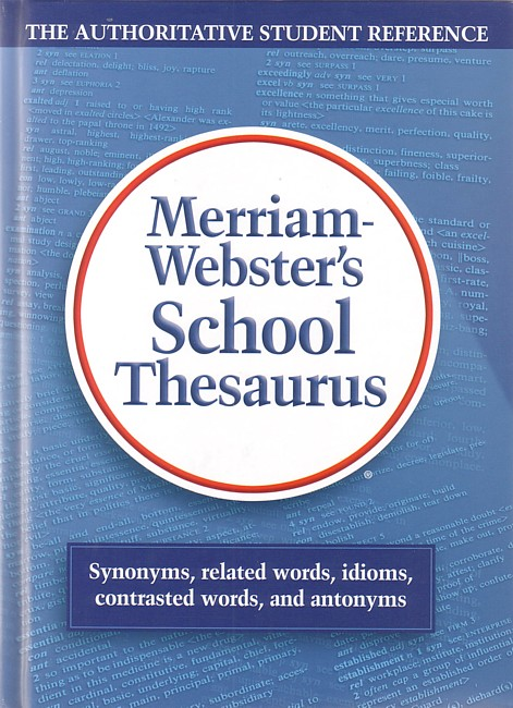 Merriam-Webster School Thesaurus - Seton Educational Media