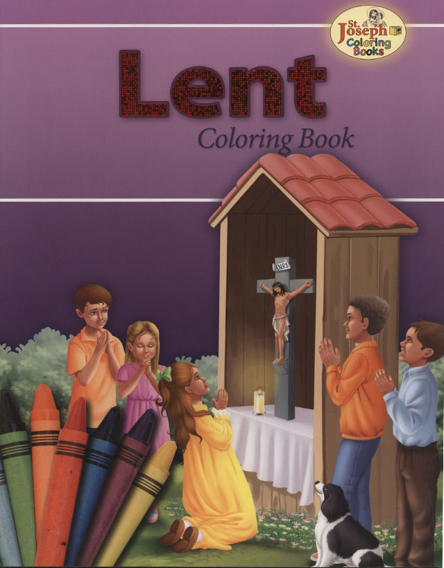 Lent Coloring Book