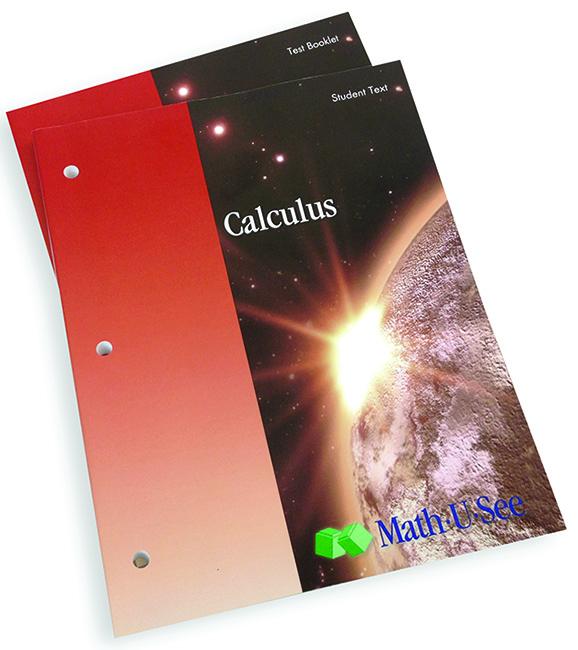 Math-U-See Calculus Student Pack
