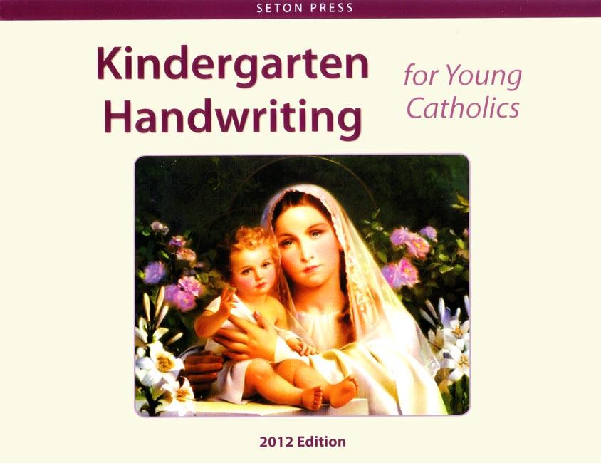 Kindergarten Handwriting for Young Catholics