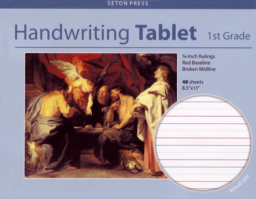Seton Handwriting Tablet, Grade 1