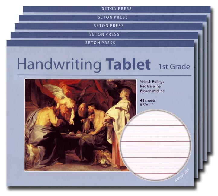 Grade 1 Handwriting Tablet - 5 pack