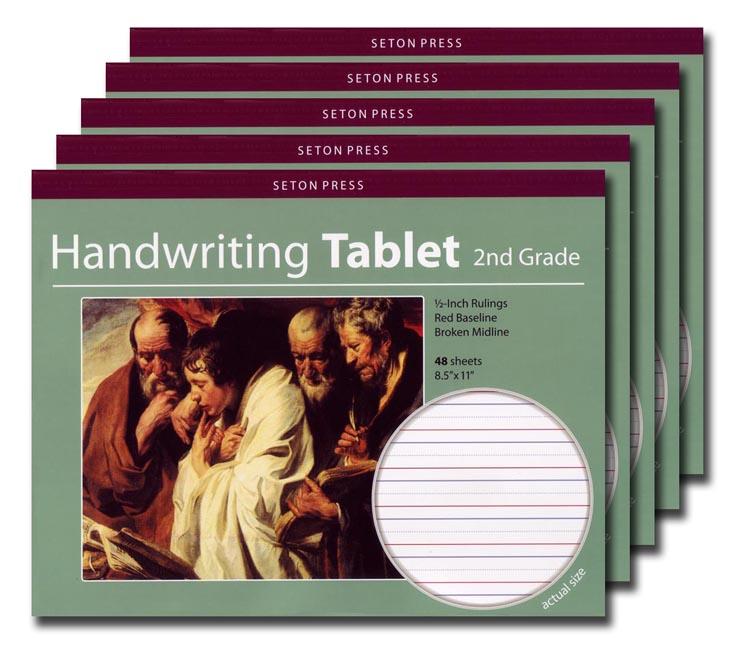 Grade 2 Handwriting Tablet - 5 pack