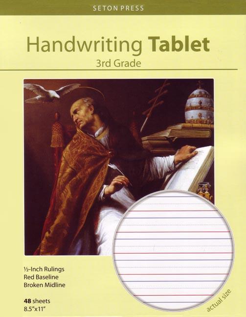 Seton Handwriting Tablet, Grade 3