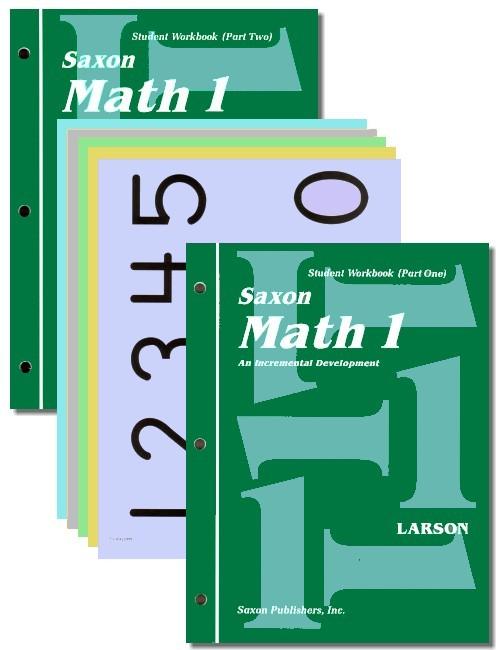 saxon math 1 student workbook seton educational media