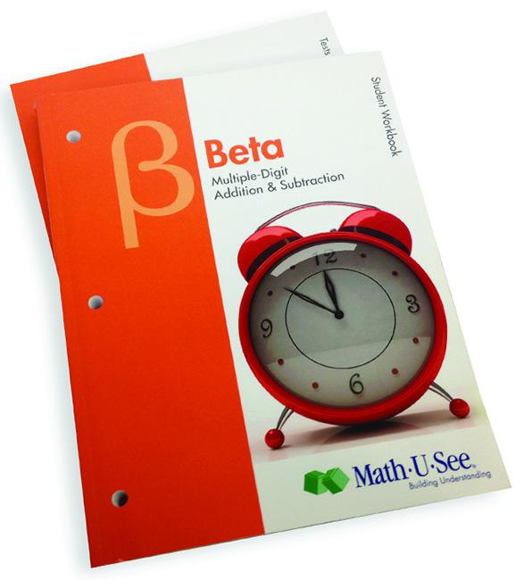 Math-U-See Beta Student Pack