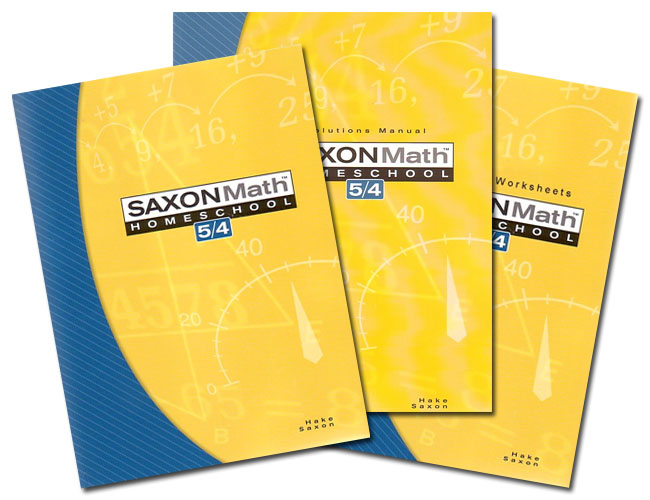 Saxon 54 Home Study Kit (3rd ed)