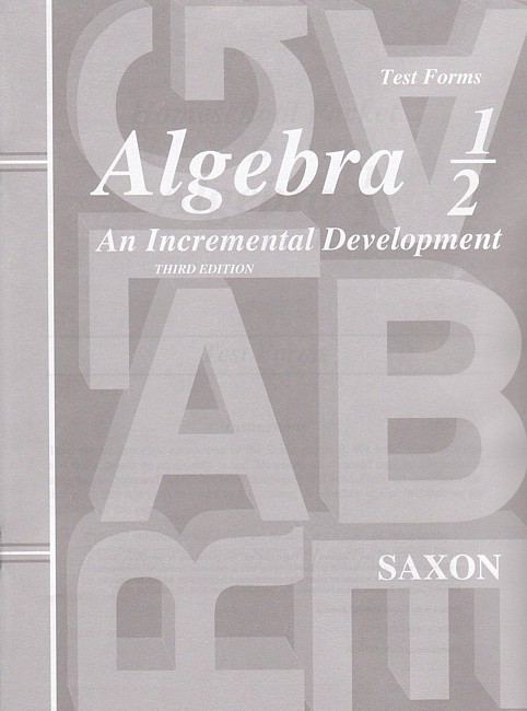 Saxon algebra 12 3rd edition tests no key seton educational media saxon algebra 12 3rd edition tests no key see inside this book fandeluxe Choice Image
