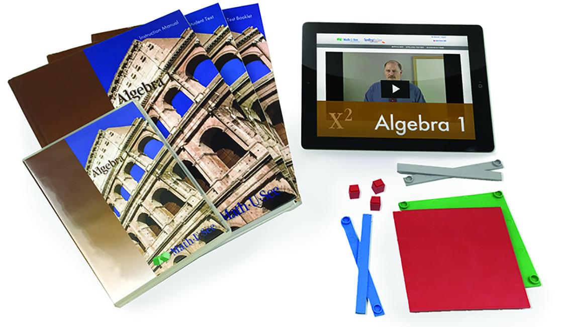 Math-U-See Algebra 1 Level Up Set