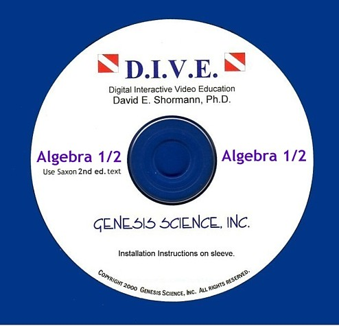 Algebra 1/2 (2nd ed) Dive Into Math CD