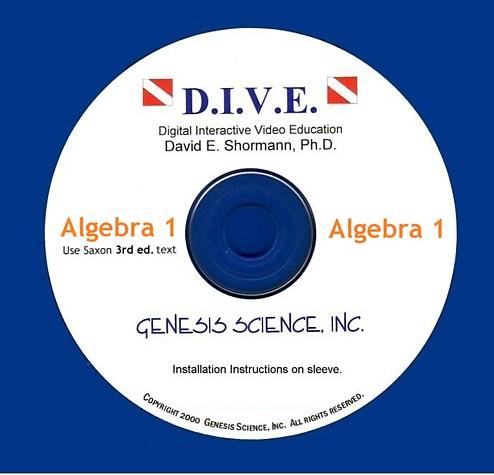 Algebra 1 (3rd ed) Dive Into Math CD