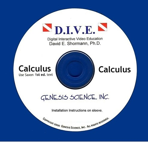 Calculus (1st ed) Dive Into Math CD