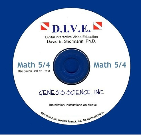 Math 54 3rd ed/Homeschool Dive Into Math CD