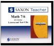 Saxon Teacher Math 76 4th Edition