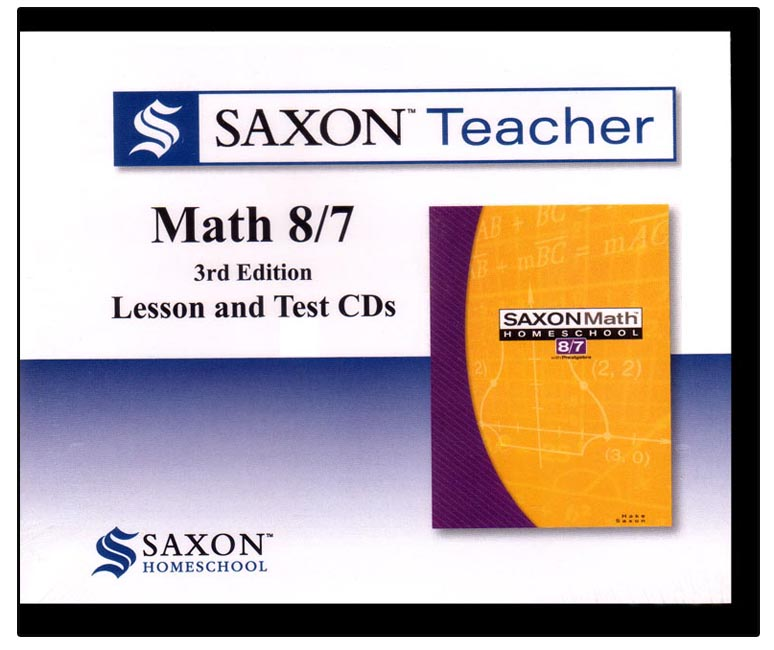 Saxon Teacher Math 87 3rd Edition
