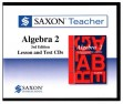 Saxon Teacher Algebra 2 3rd Edition