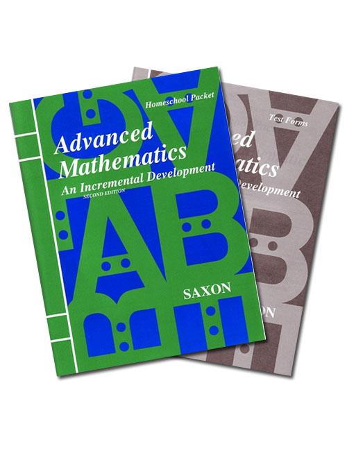 Saxon Advanced Math (2nd edition) Text Key/Tests with Key