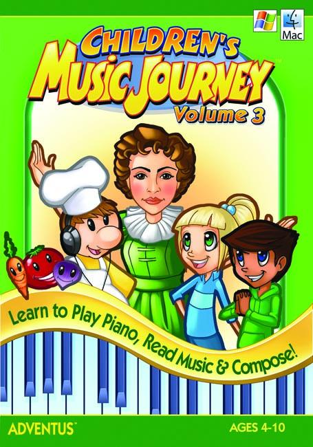 Children's Musical Journey Vol. 3 Software