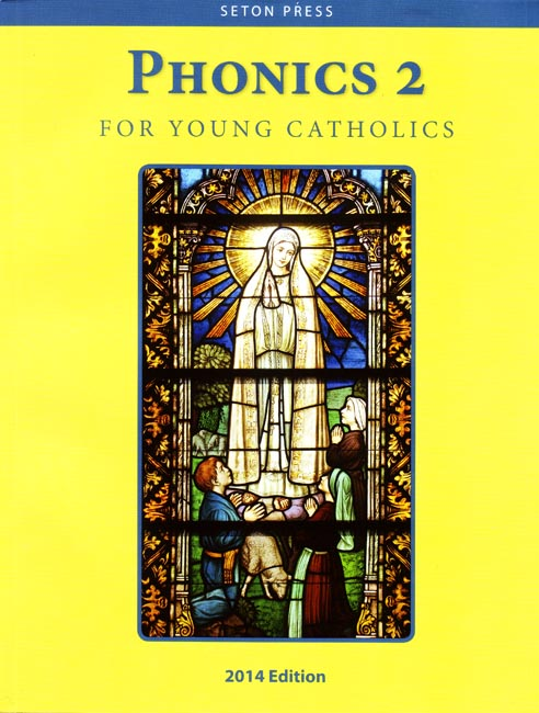 Phonics 2 for Young Catholics (key in book)