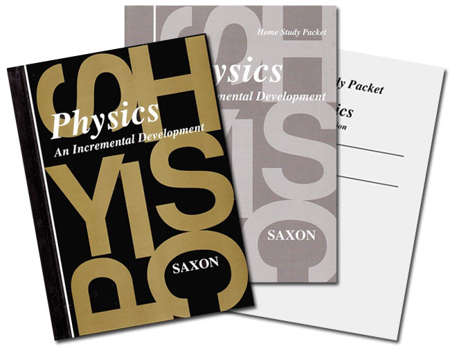 Saxon Physics (1st edition) Home Study Kit