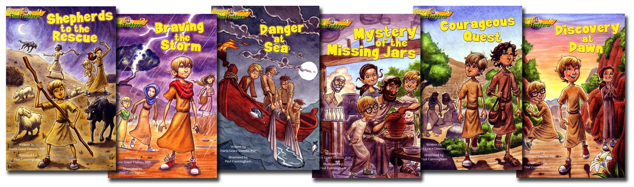 Gospel Time Trekkers 6 Book Set