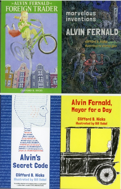 Alvin Fernald 4 Book Set