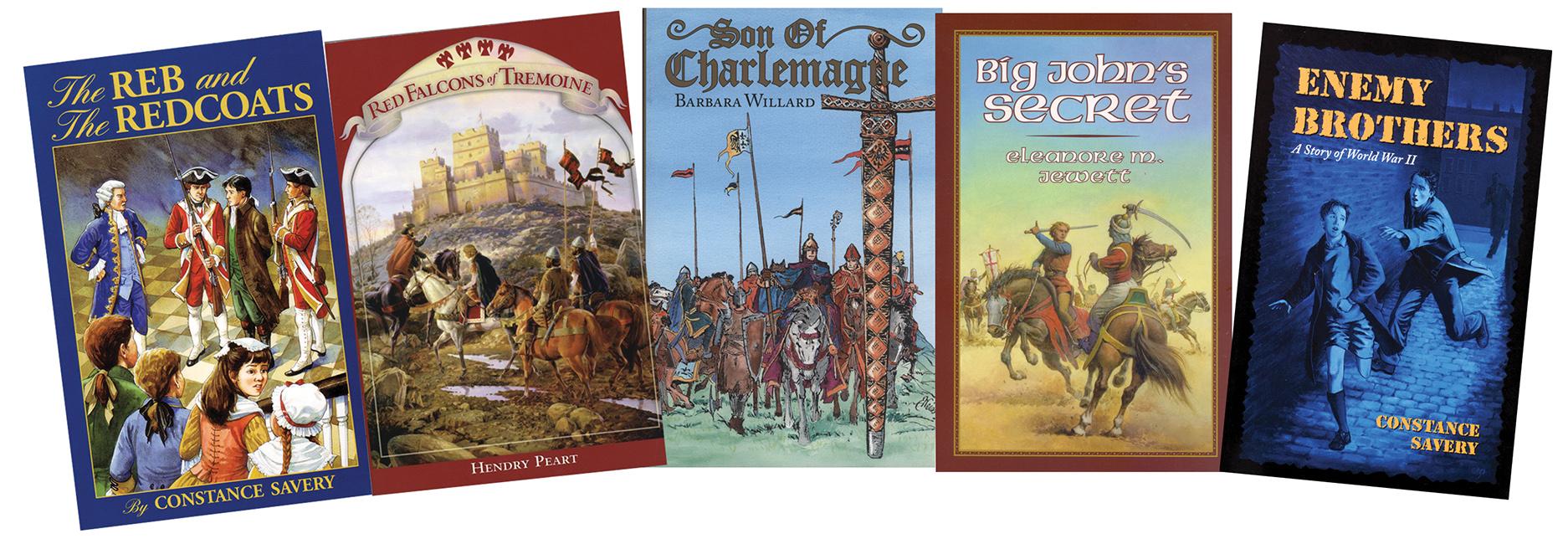 Young Adventurer's 5 Book Set