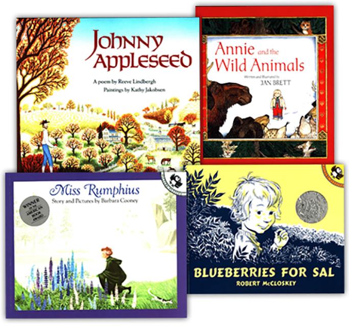 Pre-K Read-Aloud 4 Book Set