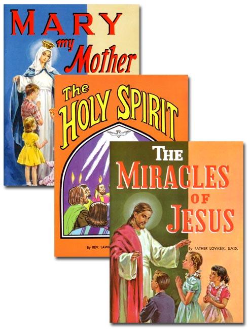 St. Joseph Picture Books 1st Grade 3 Book Set