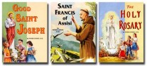 St. Joseph Picture Books 2nd Grade 3 Book Set