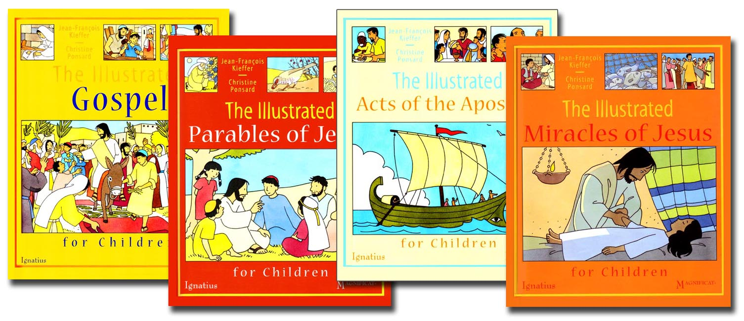 Illustrated Bible Stories 4 book set