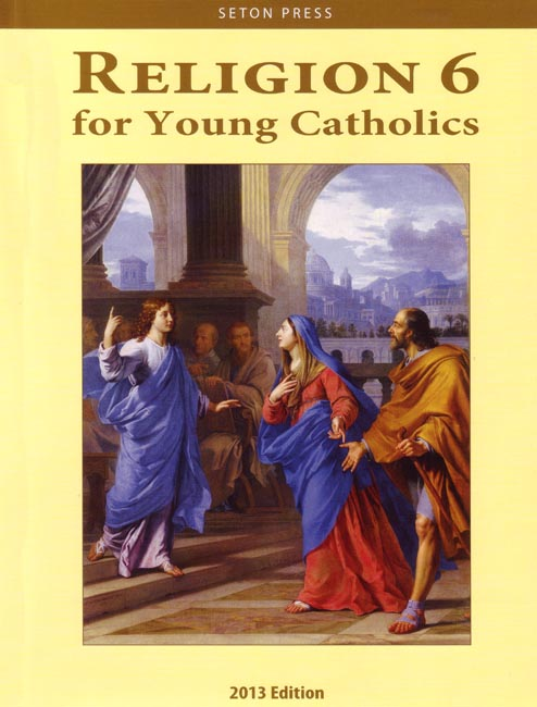 Religion 6 for Young Catholics (key in book)
