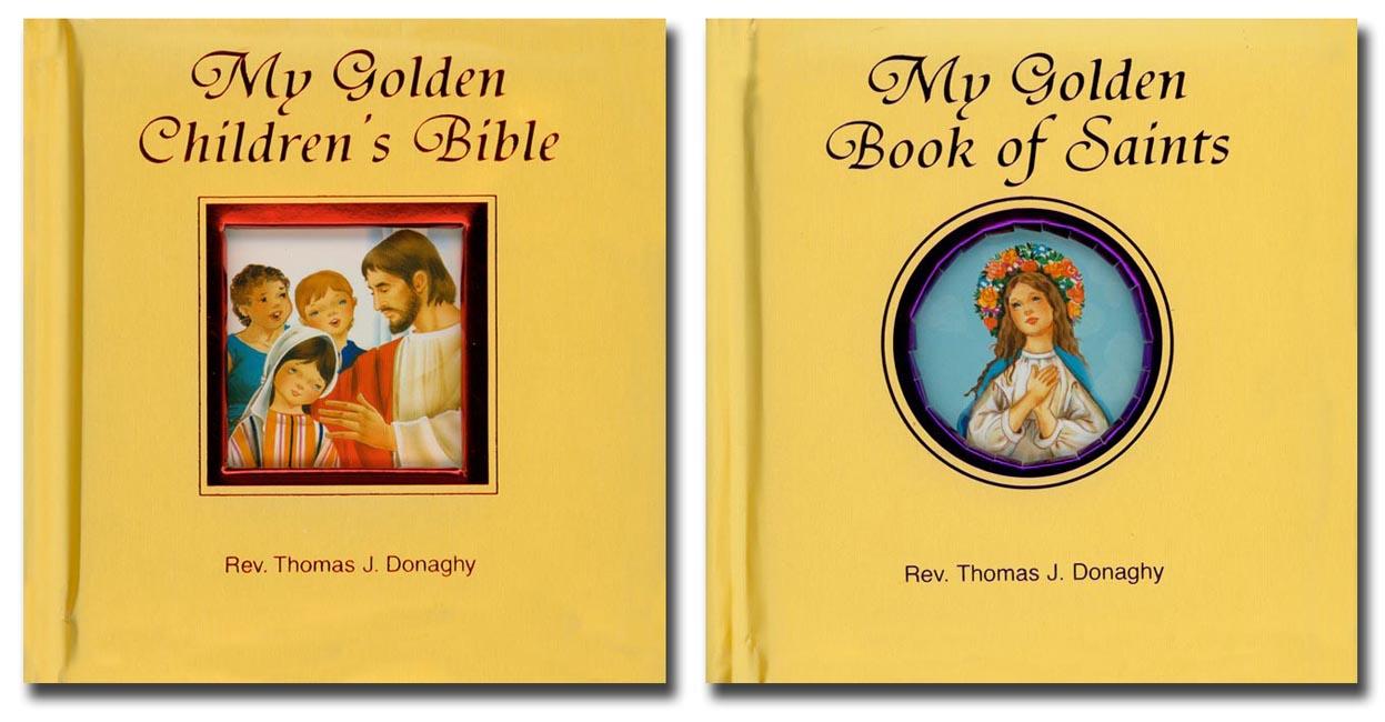 My Golden Bible and Saints set