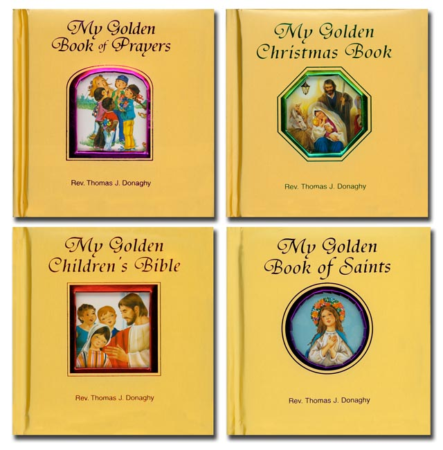 My Golden Catholic Treasury (4 Book set)