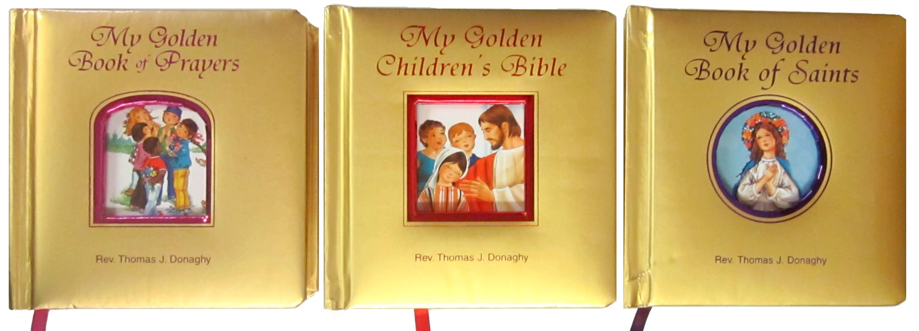 My Golden Catholic Treasury (3 Book set)