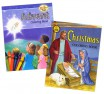 Advent/Christmas Coloring Book Set