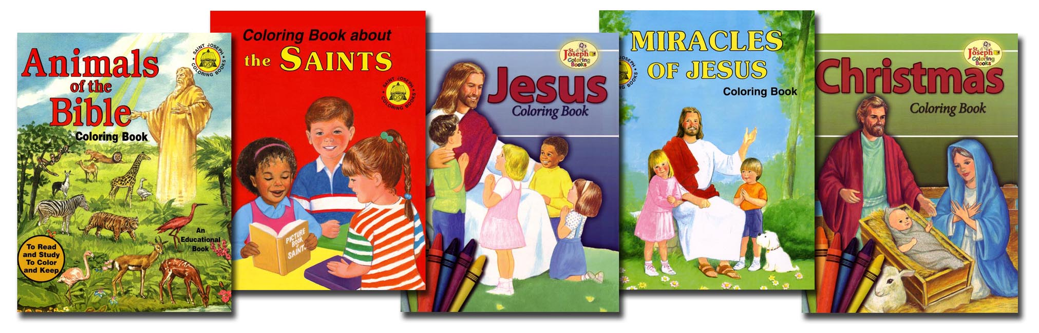 Pre-K Coloring 5 Book Set