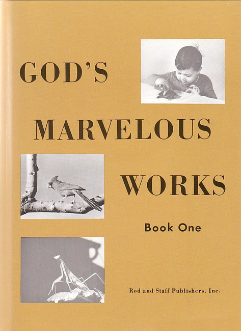 God's Marvelous Works Book 1