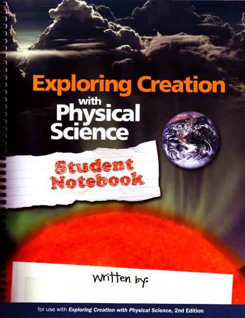 Exploring Creation w/ Physical Science Student Notebook