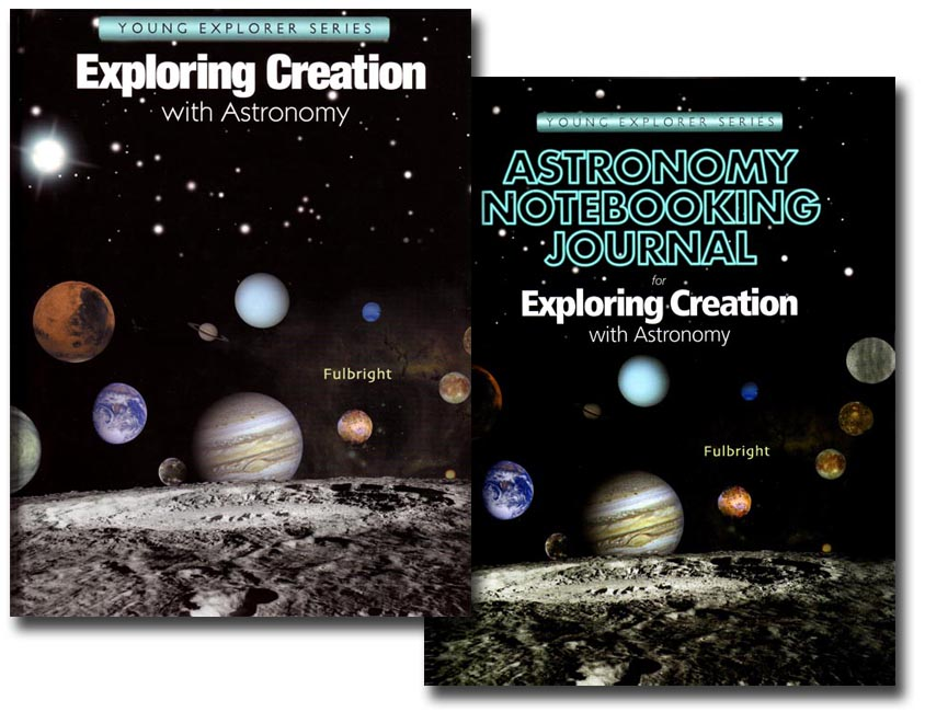 Astronomy text with Notebooking Journal