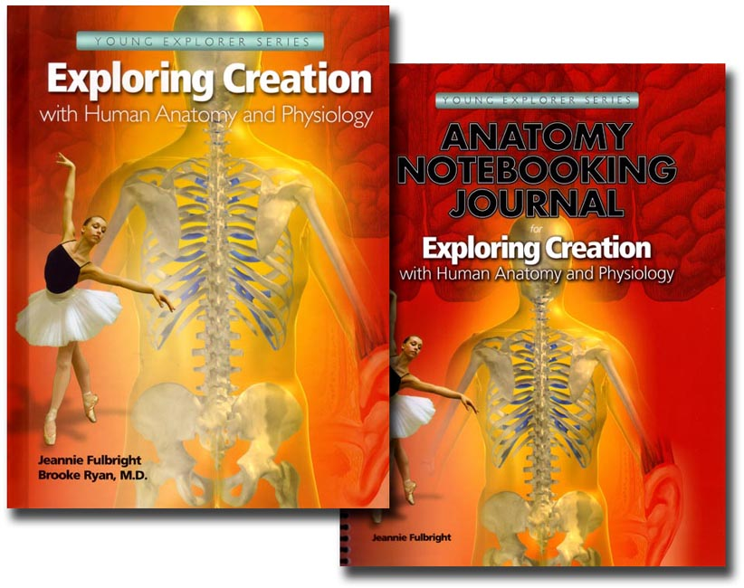 Human Anatomy text with Notebooking Journal