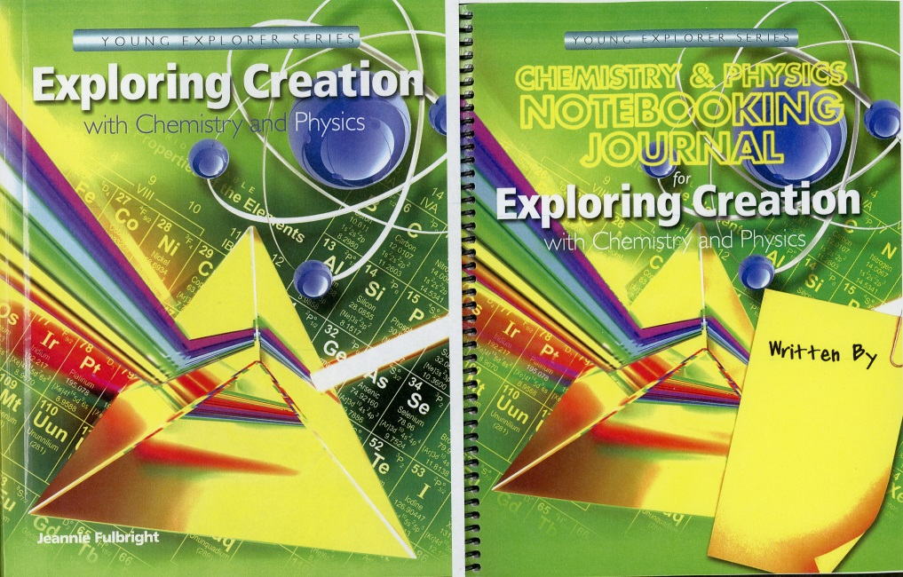 Chemistry and Physics text with Notebooking Journal