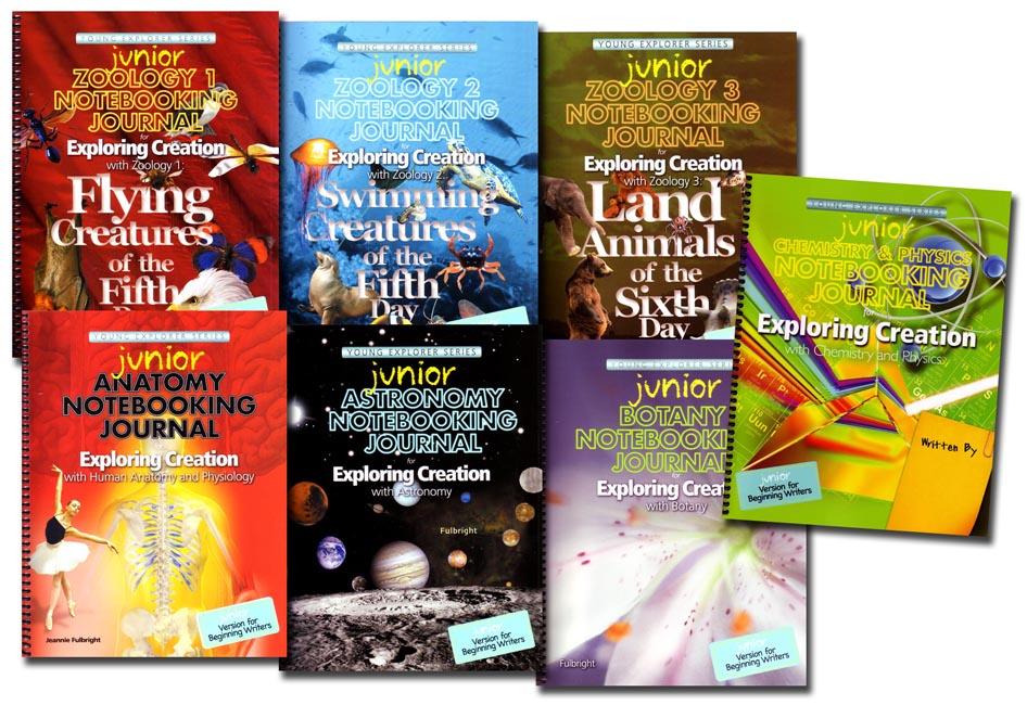 Junior Notebooking Journal set of 7