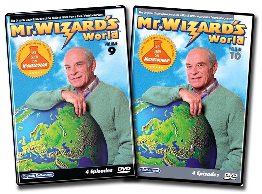 Mr. Wizard's World Vol. 9 & 10 set