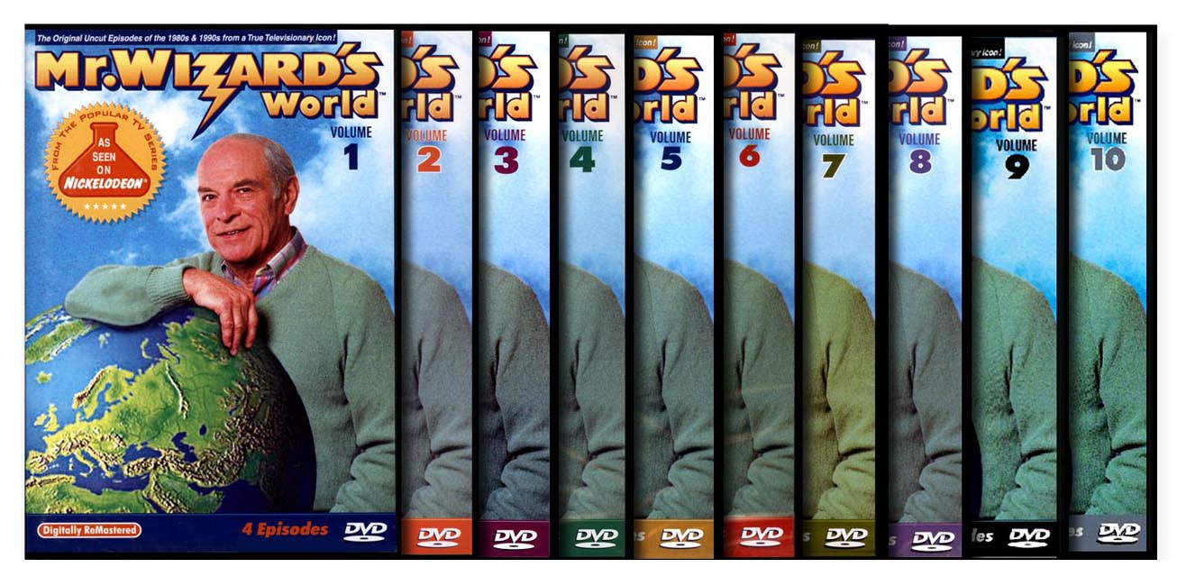 Mr. Wizard's World  Set 10 DVD Set