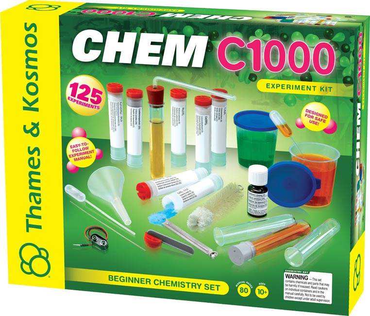 sparkle science chemistry set instructions