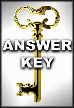 MCP Mathematics Level E Answer Keys